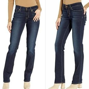 Levi Strauss Signature Shaping Straight Jeans 26W